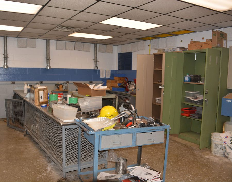 Lack of lab space and learning spaces throughout the building