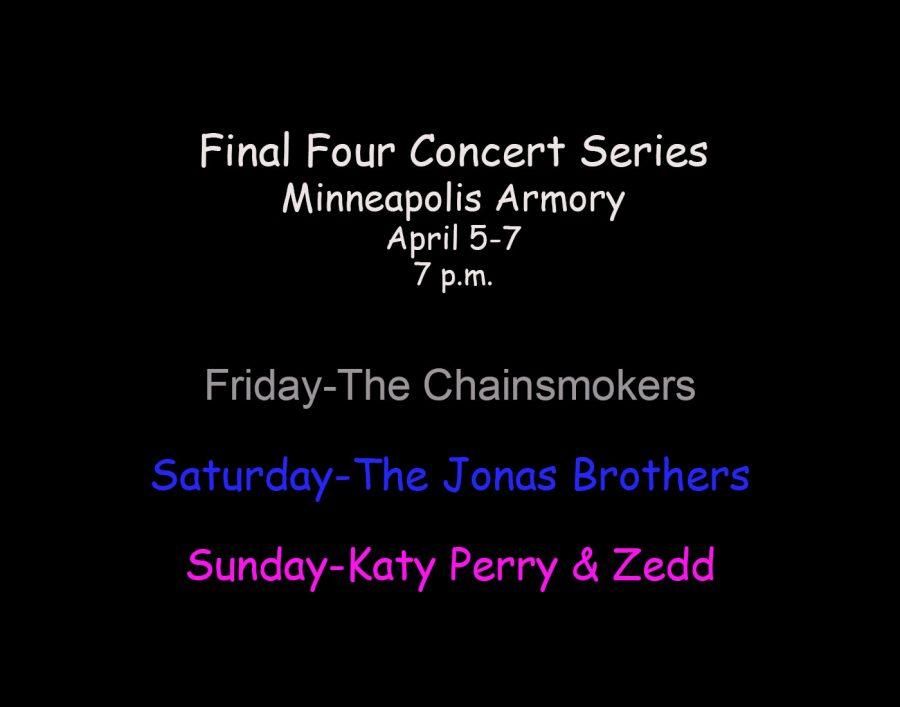 Final Four Series Lineup