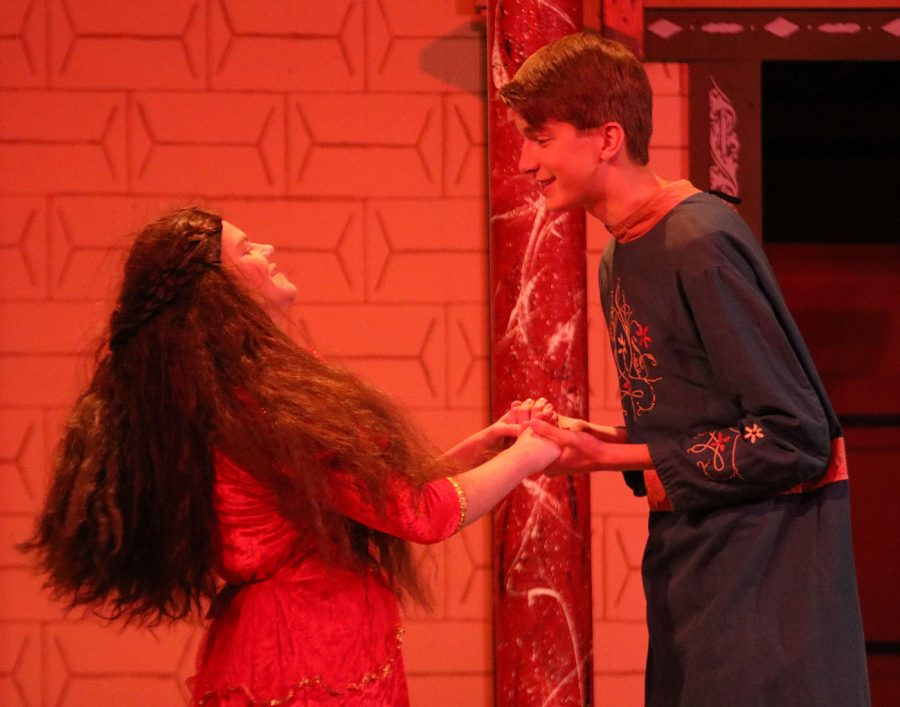 Romeo and Juliet celebrate their love