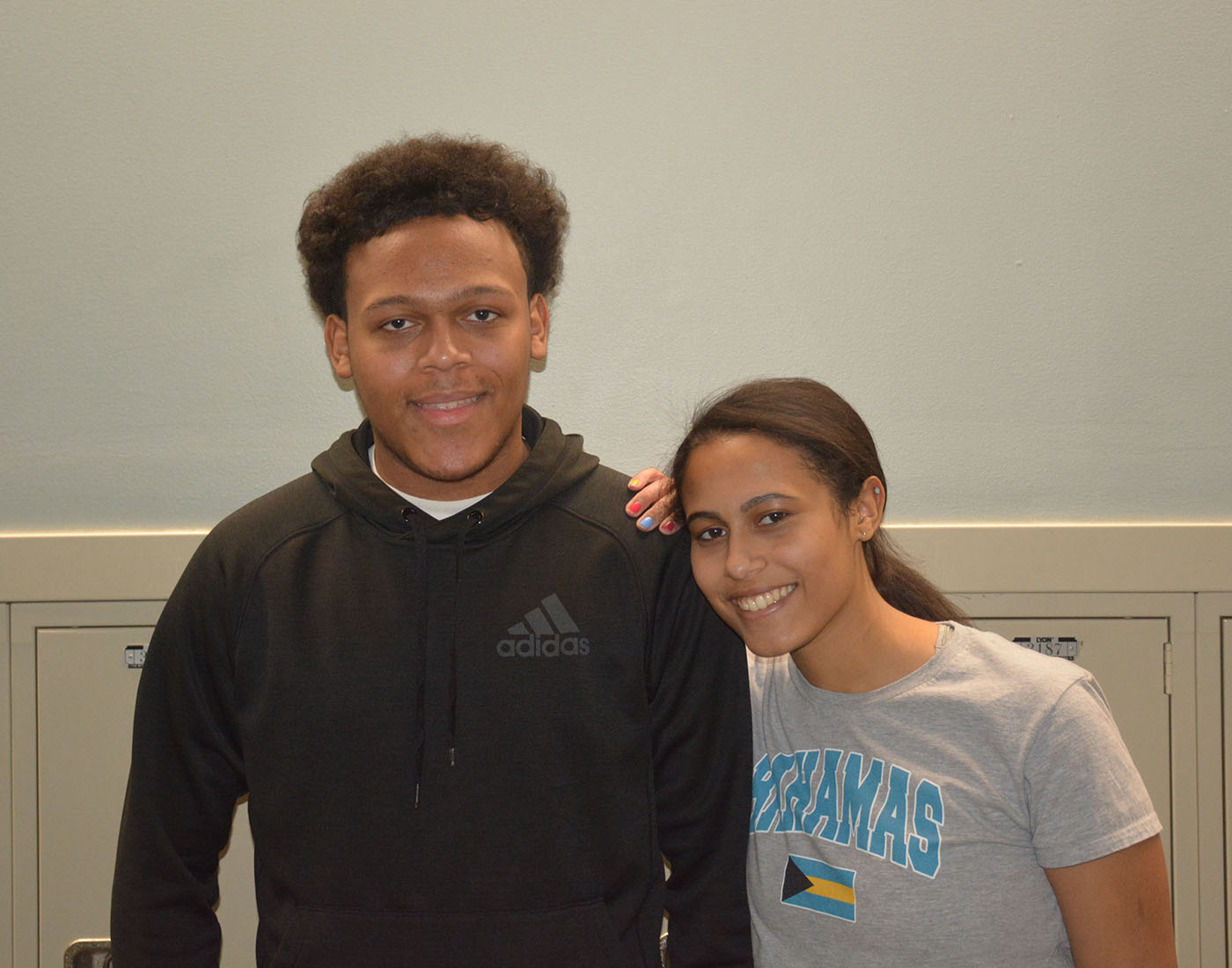 Senior Magnet staffers   Devin and Serena Omangi are fraternal twins and one of the 24 sets at OHS