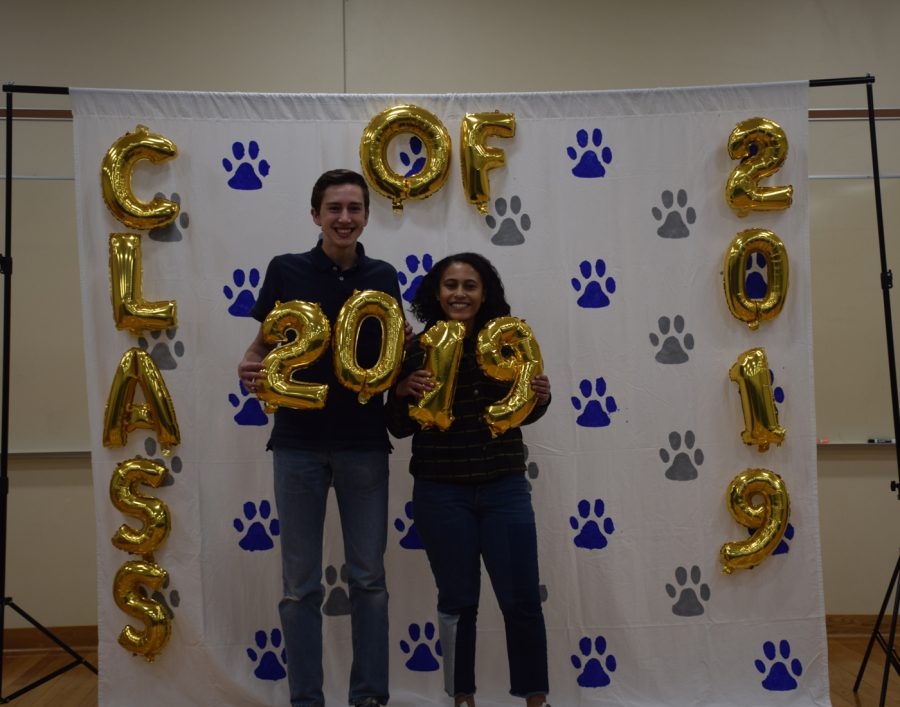 OHS Magnet  photo booth held on May 9 and 10