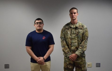 Daniel Garces and Spencer Intress will be serving our country next year.