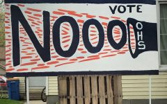 Yard sign from Vote No