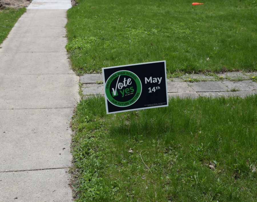 Vote Yes yard sign