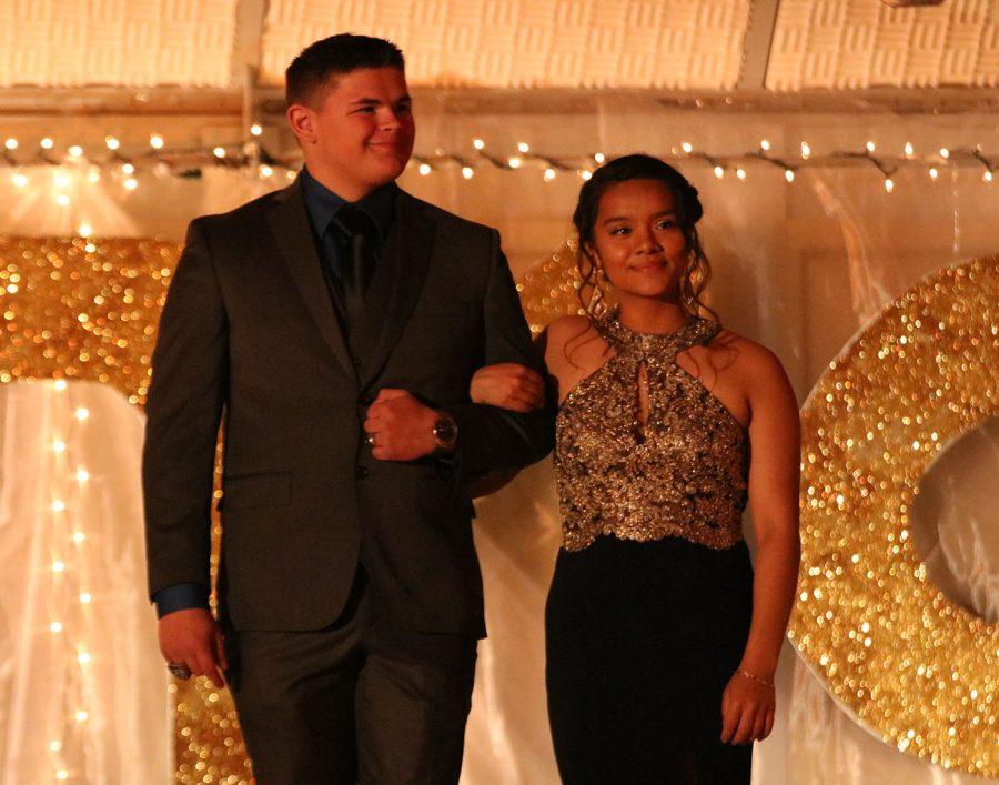 Senior Roxy Manzano & Junior Brandon Skala