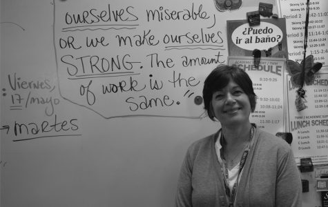 Mrs. Chicos plans to retire after 33 years of teaching