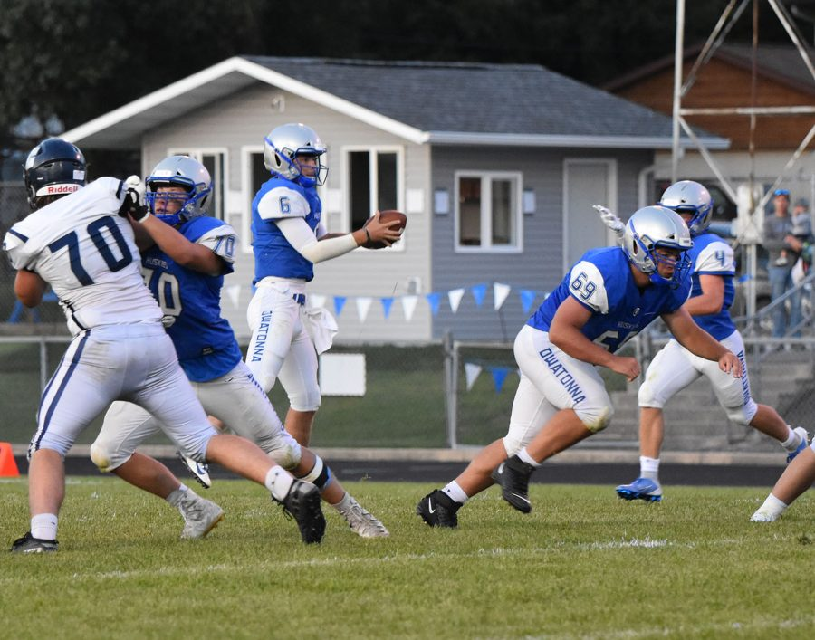 Owatonna offense goes to work