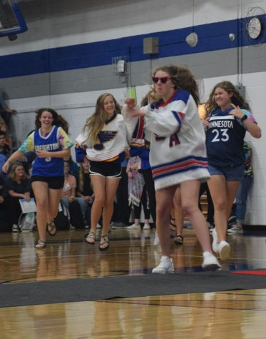 Homecoming committee rock and rolls out 2019 pepfest