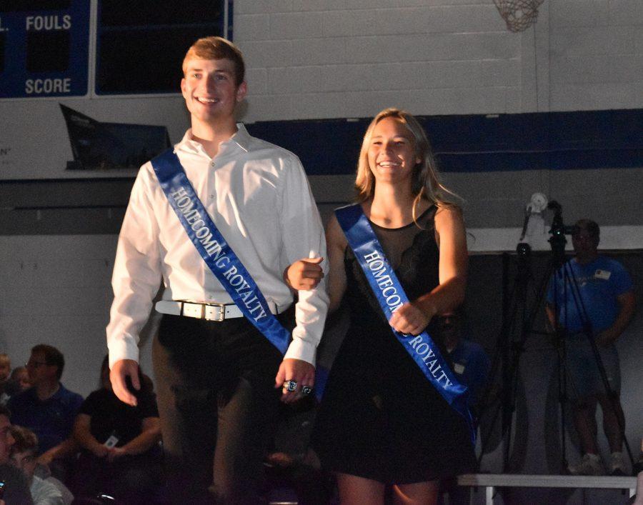 Josie Sullivan and Isaac Oppegard