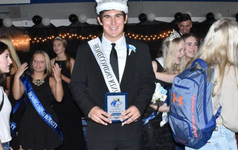 2019 OHS homecoming king Carson Dekam