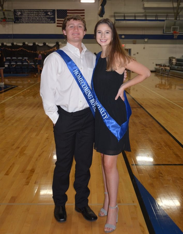 Carly Christenson and Ethan Walter