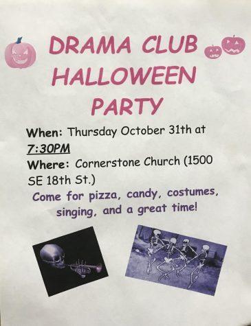 OHS Drama Club is getting spooky