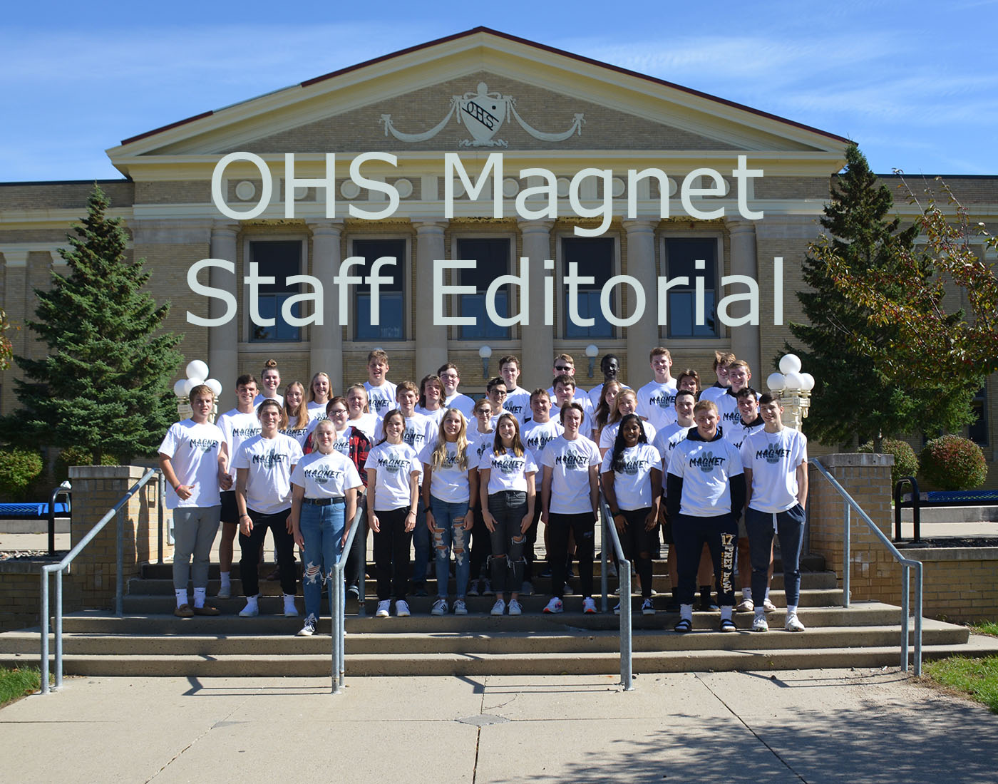 Staff editorials in the Magnet are the opinions of the Magnet staff and may not reflect the views of the adviser or the school administration