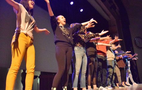 Miscast cast performs their final song
