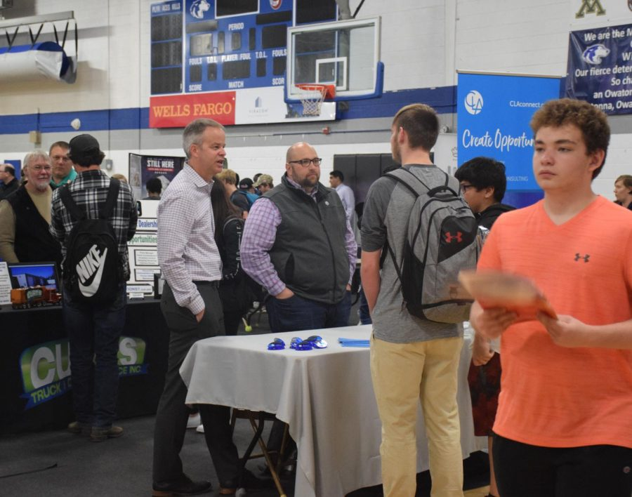 OHS students participated in the college and career day at OHS.