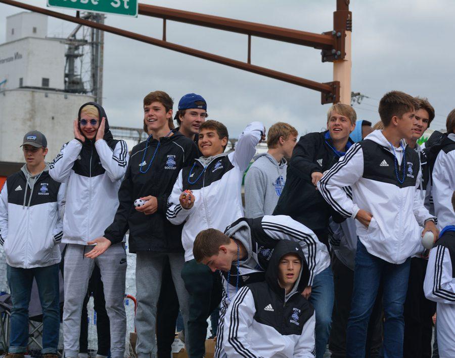 Owatonna boys soccer team