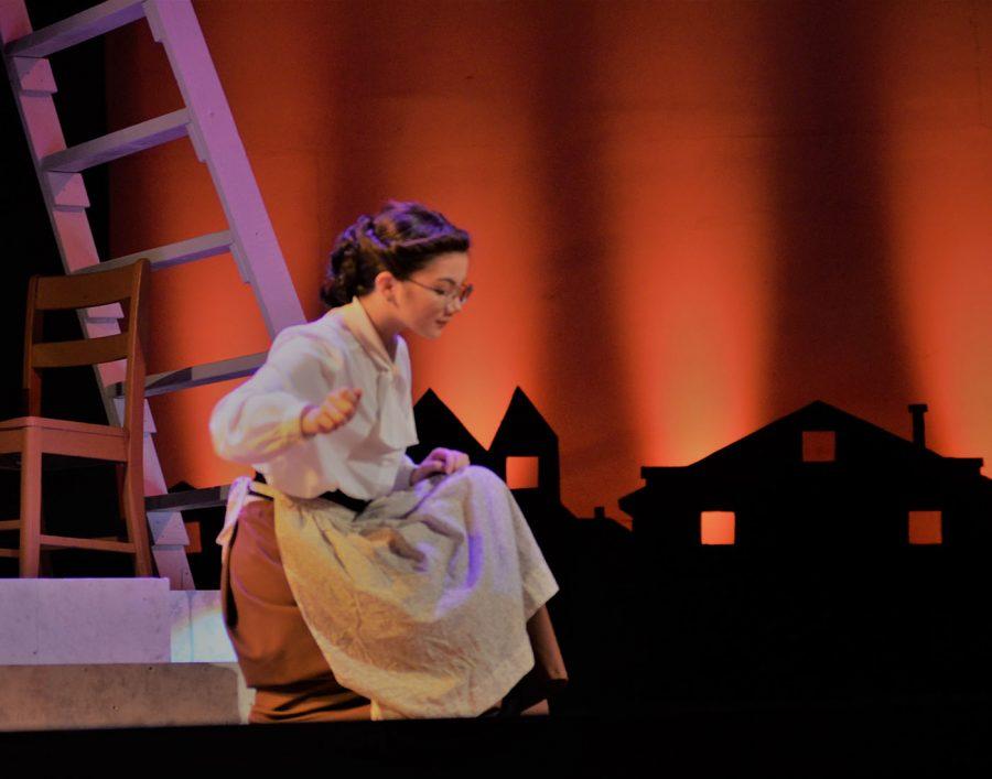 Elizabeth Borromeo in the fall play Our Town