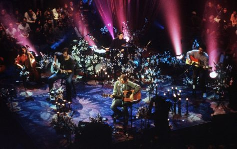 Nirvana performing their acoustic set live in New York for MTV Unplugged  Source: theringer.com
