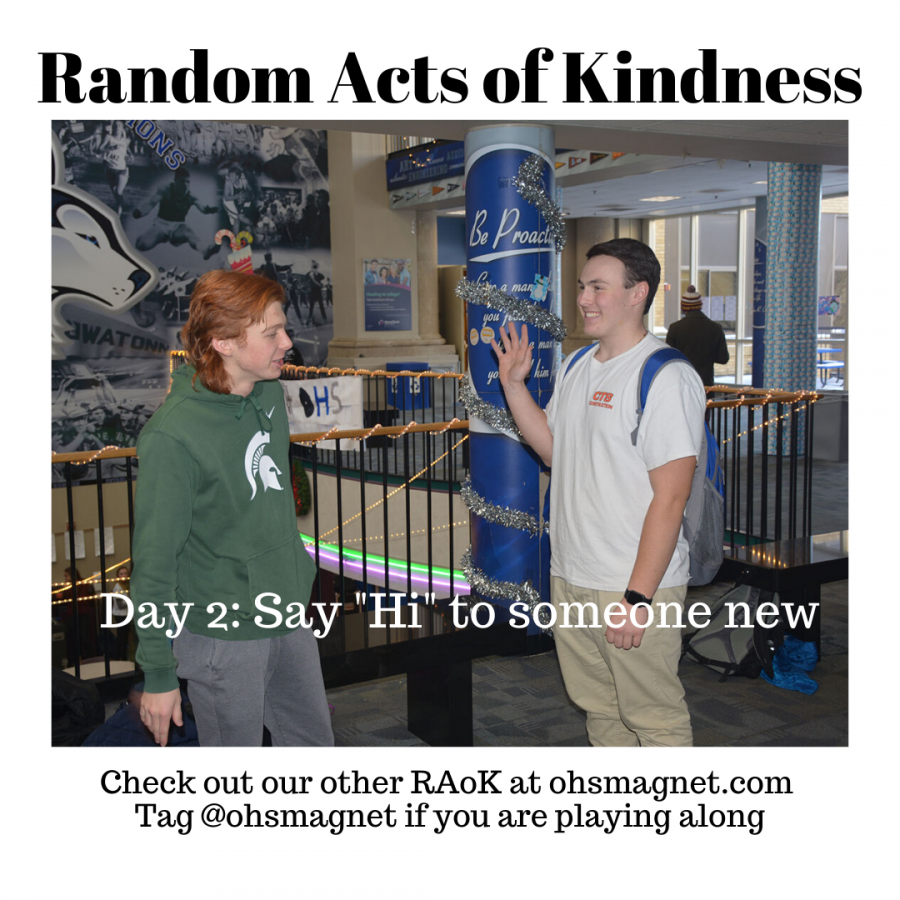 Random Acts of Kindness continues