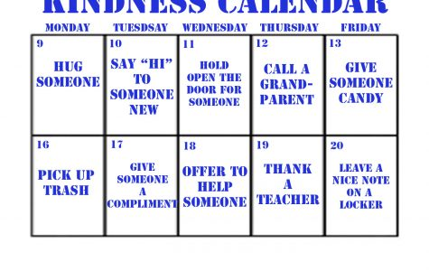 Spreading kindness at OHS