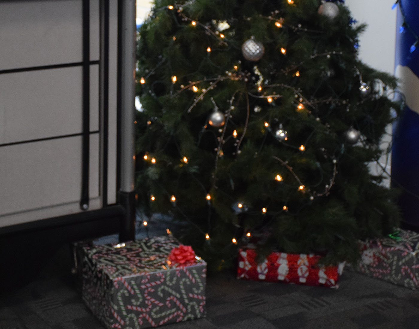 OHS commons Christmas tree