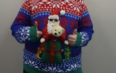 Ugly sweater dance