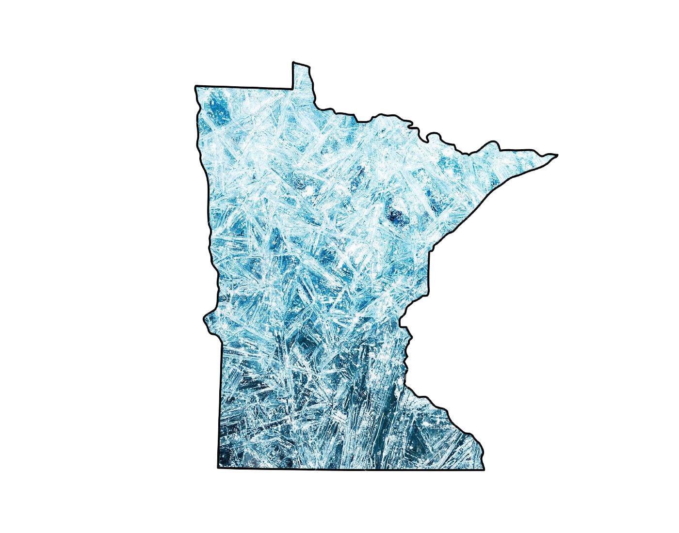 Minnesota in a frozen tundra