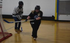OHS Adapted Floor Hockey team shooting big this year