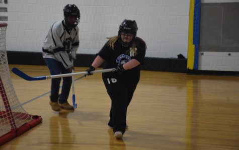 OHS Adapted Floor Hockey team shooting big this year
