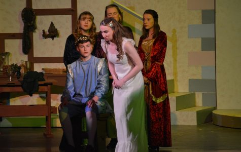 Princess Winifred and Prince Dauntless will engage the crowd in this year's musical Once Upon a Mattress