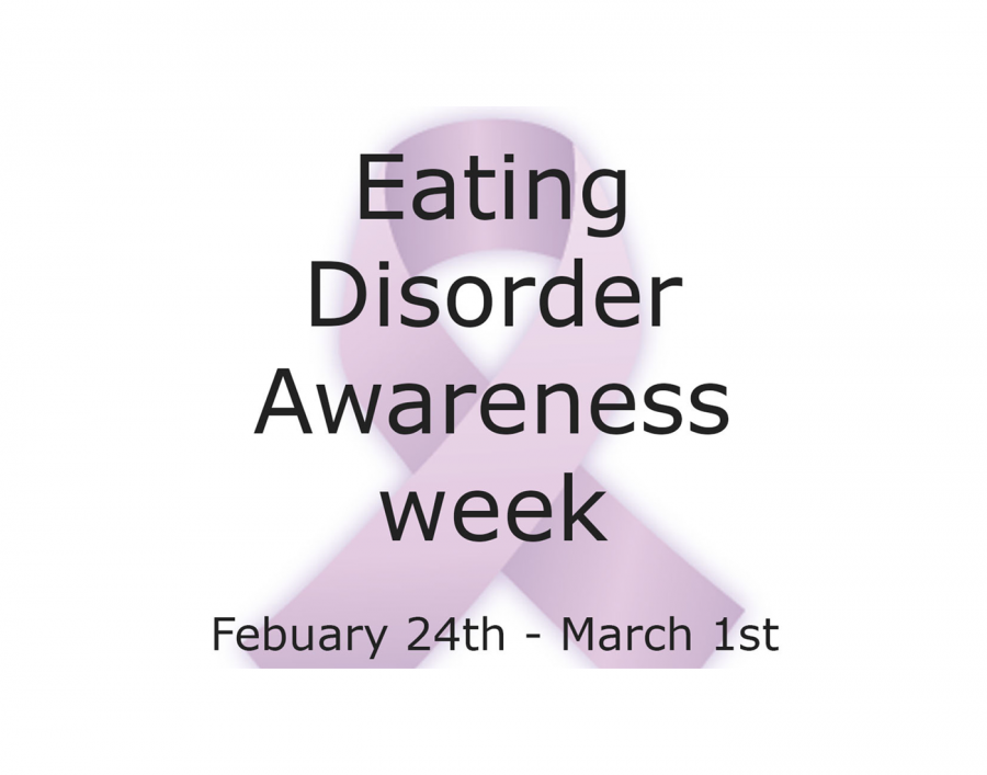 Eating Disorder Awareness Ribbon and Dates