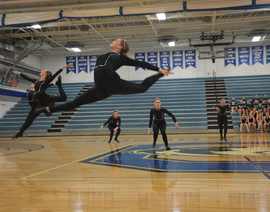 Dancing+varsity+kick