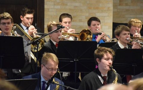 The Jazz Band playing at Toreys restaurant in Owatonna