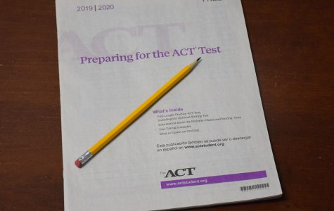 The ACT is composed of four multiple choice tests that evaluate the intelligence of the individual taking it