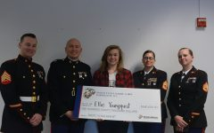 Senior Ellie Younquist received a military scholarship for $180,000 and she will enter the US Marine Corps