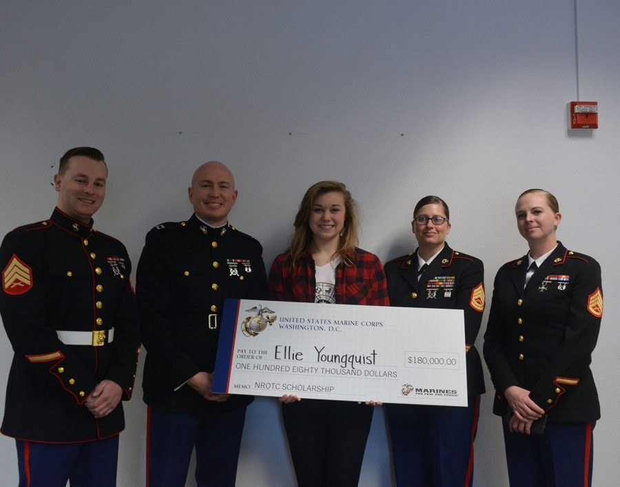 OHS student awarded full-ride military scholarship