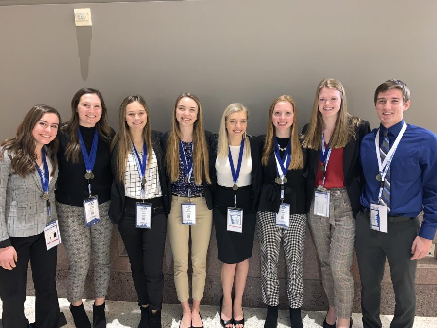 2020 DECA finalist from Owatonna