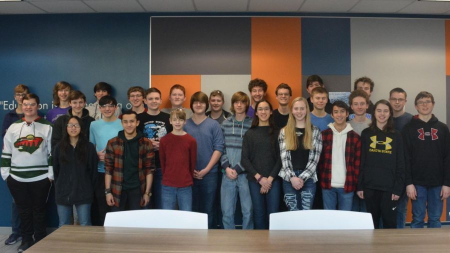 The OHS Robotics team