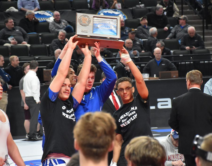 Photo Gallery: State wrestling match Feb. 27