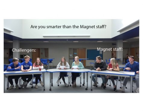 Magnet Staff hosts Are you smarter than the OHS Magnet Staff?