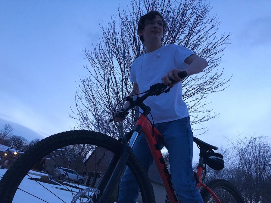 Many students at OHS find biking a good way to stay active under the Stay at Home order