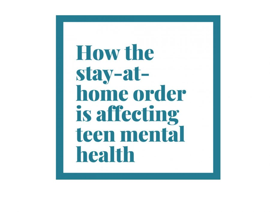 How the stay-at-home order is affecting teen mental health