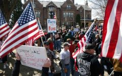 Stay-at-home protests rage on
