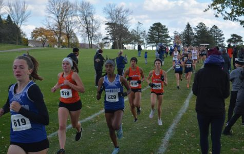 Owatonna Girls Cross Country Team finished 4th in the section