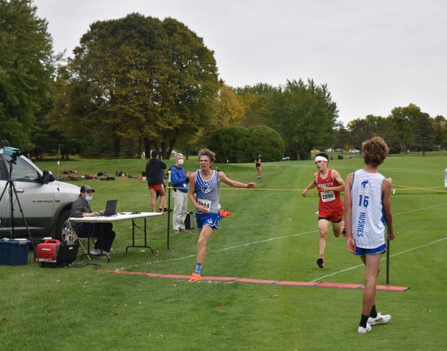 Evan Buck finishing strong