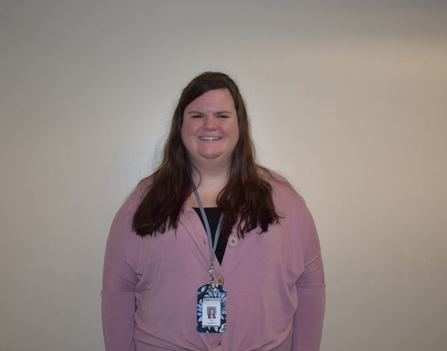 Ms. Tara Lammers joins the OHS staff this year