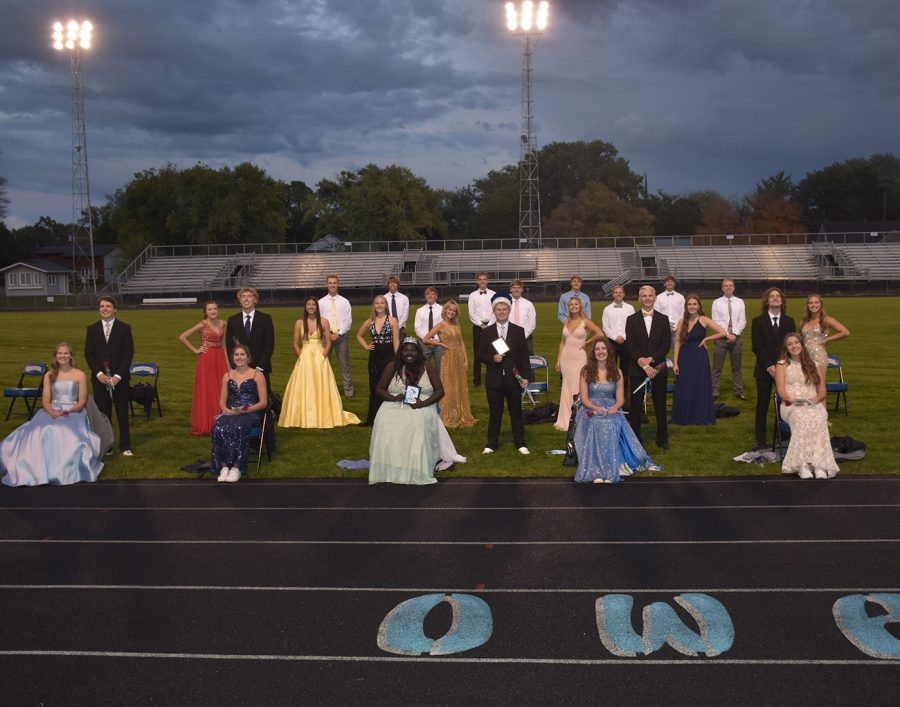 Homecoming Coronation Sept. 30