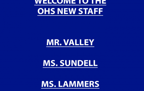 Welcome to the OHS new staff members