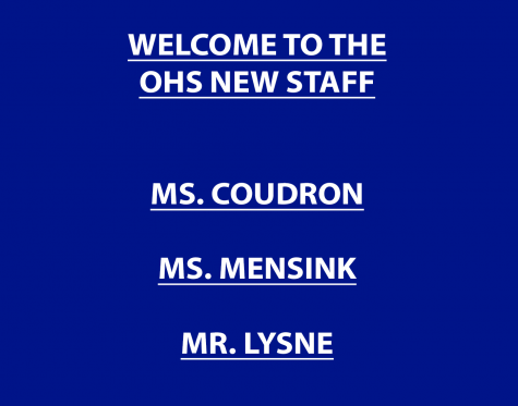 Welcome to the OHS teachers from other schools