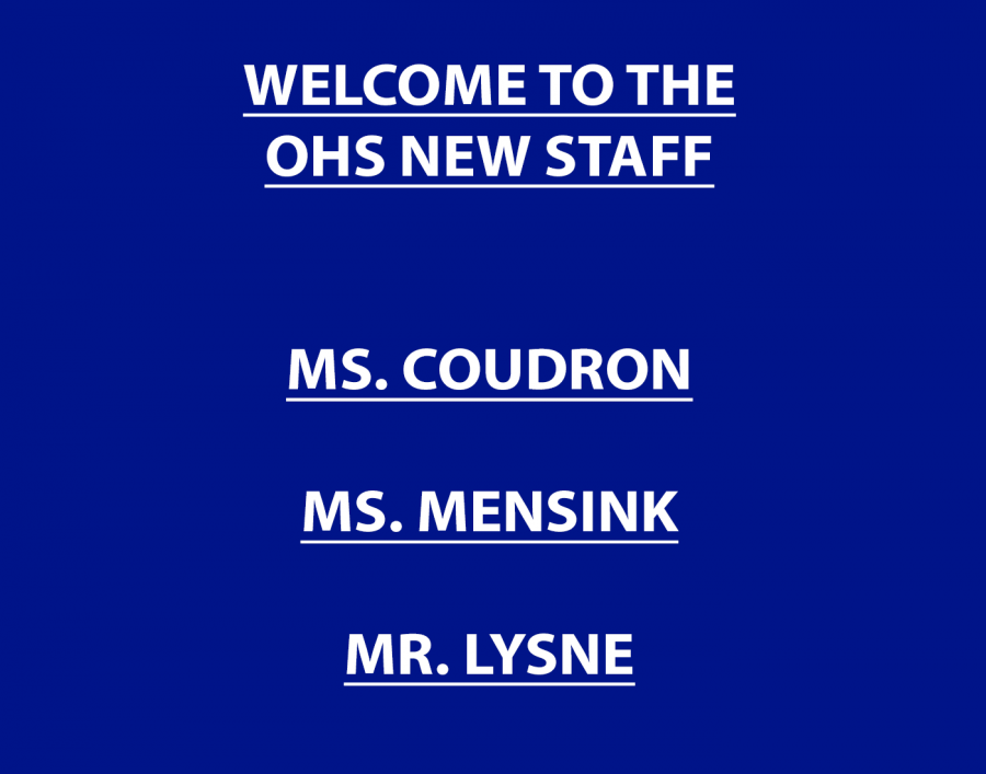 Part III: OHS welcomes new teachers and staff